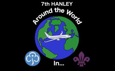 Around The World In Lockdown… Challenge Badge