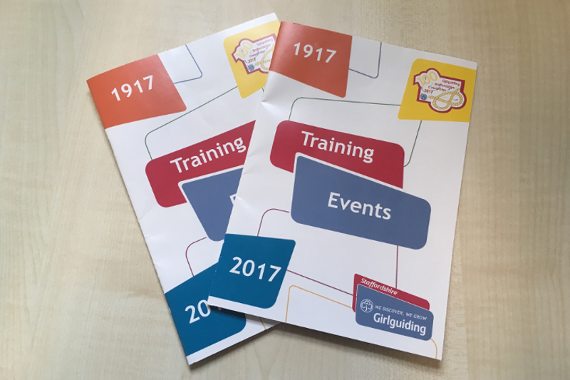 Training & Events Booklet 2017
