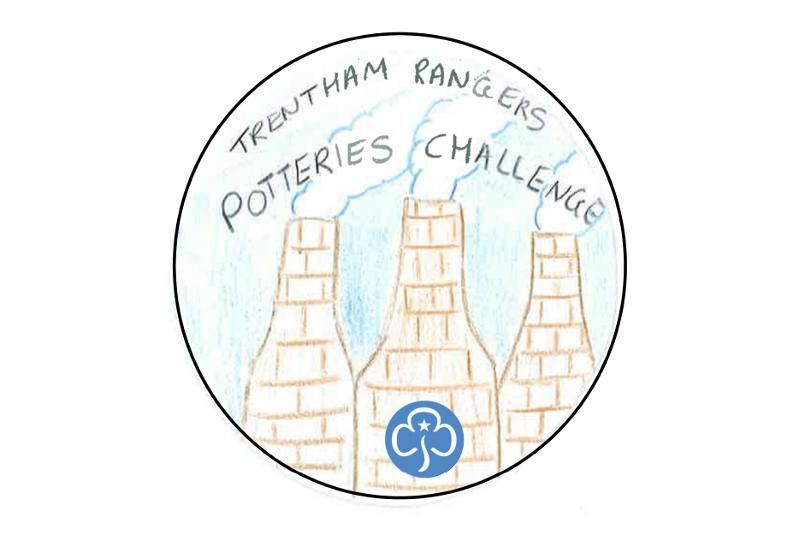 Potteries Challenge Badge