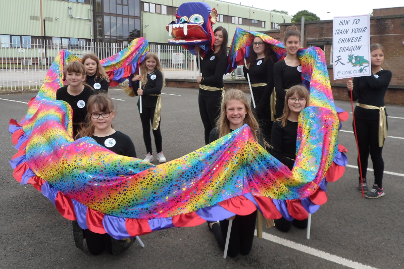 Carnival Fun for Girlguiding in Stone!