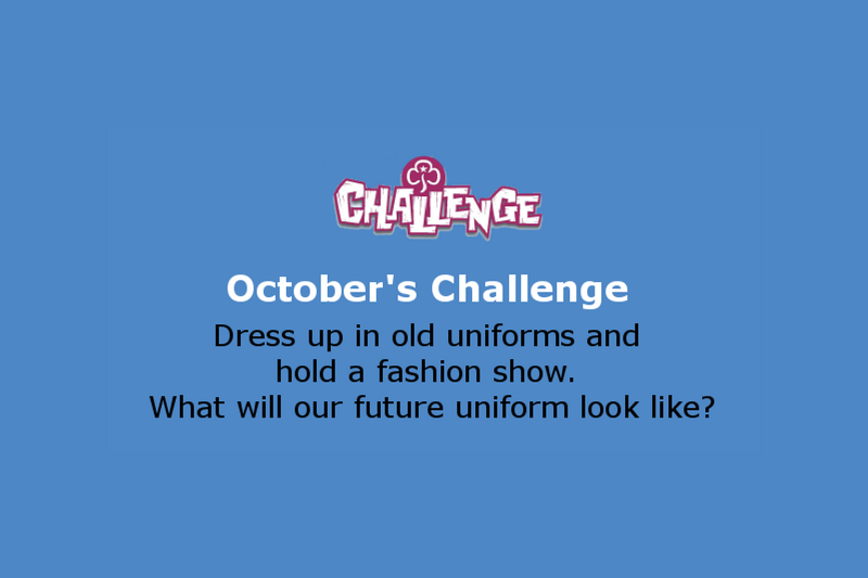 October Monthly Celebration Challenge
