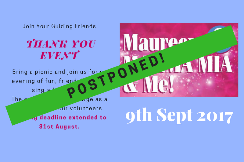 Postponed: Maureen, Mamma Mia & Me!
