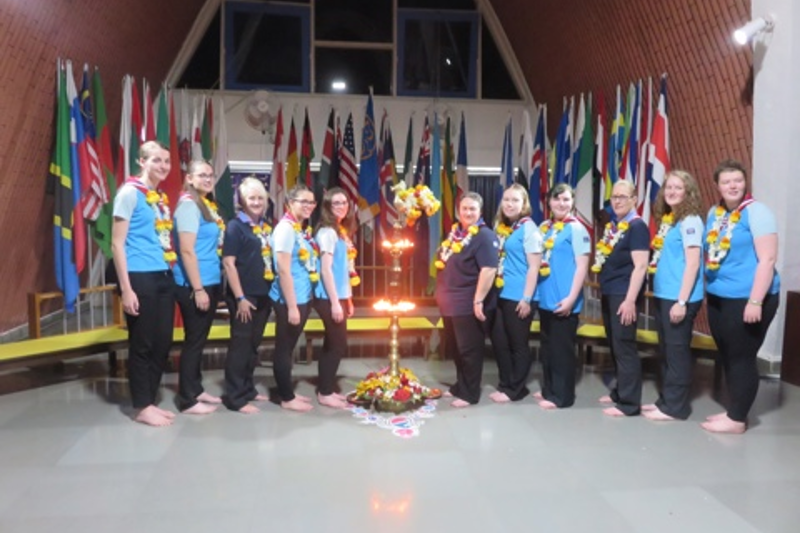 Girlguiding Staffordshire Trip to India August 2017