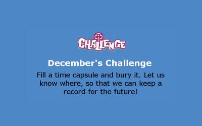 December Monthly Celebration Challenge