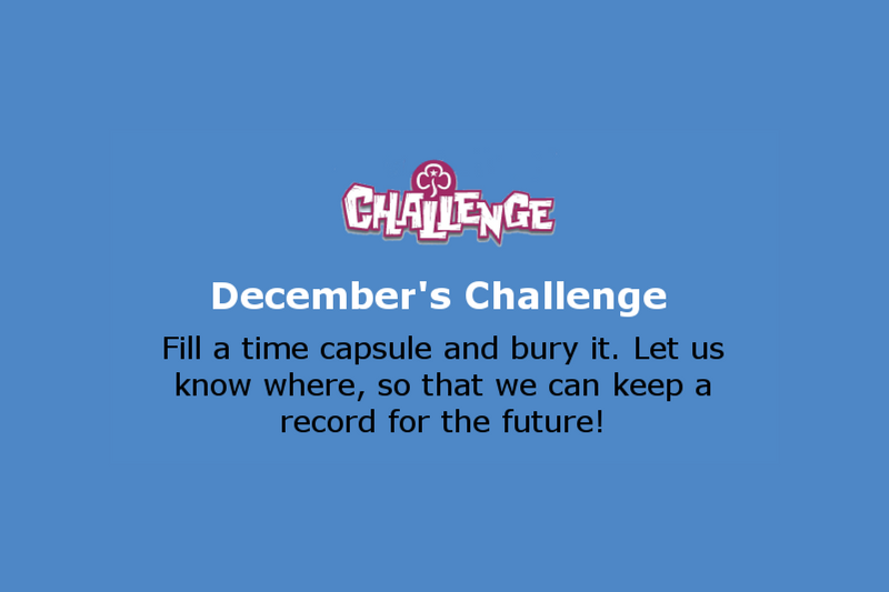 December Monthly Celebration Challenge