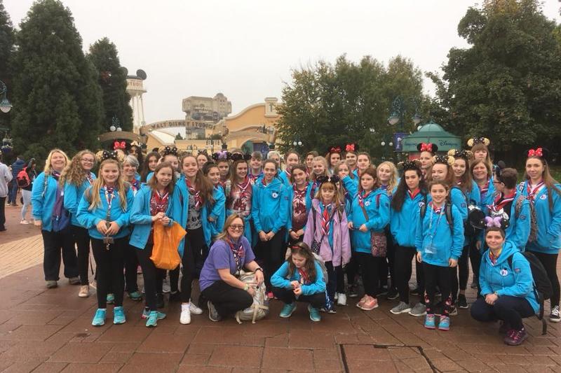 Girlguiding Lichfield Visit Disneyland Paris