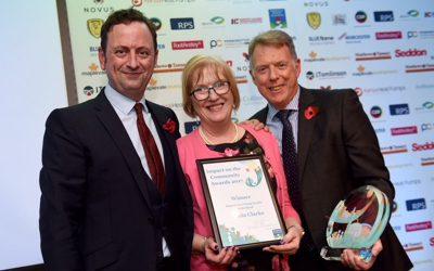 Needwood Rainbow Leader Receives Local Community Award