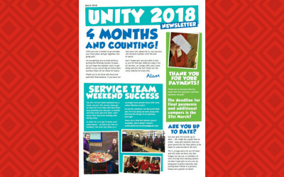 Unity Newsletter – March 2018
