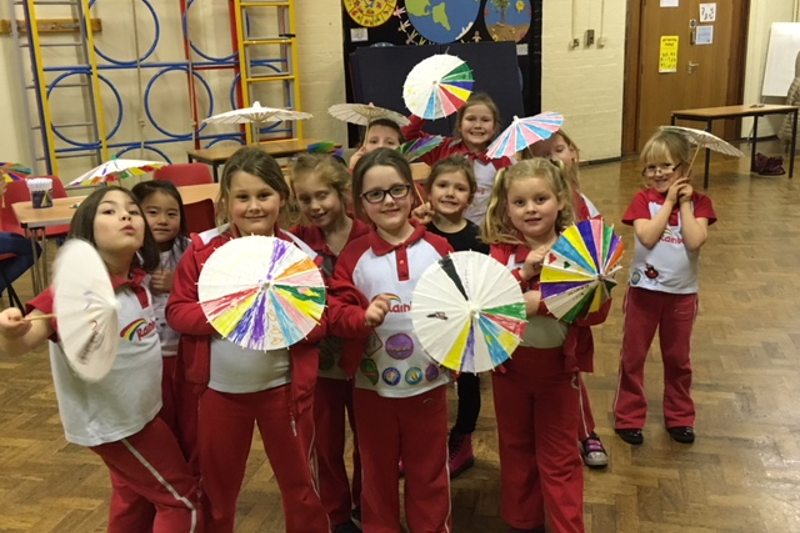 Chasewater Rainbows Complete Umbrella Challenge