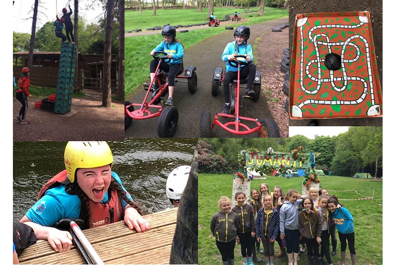 Rugeley Brownies Experience Life On Guide Camp