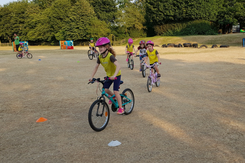 Cyclist Badge Success For Barton Brownies