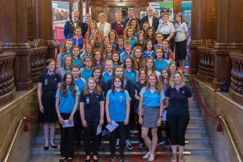 Celebrations For County's Top Achieving Young Women