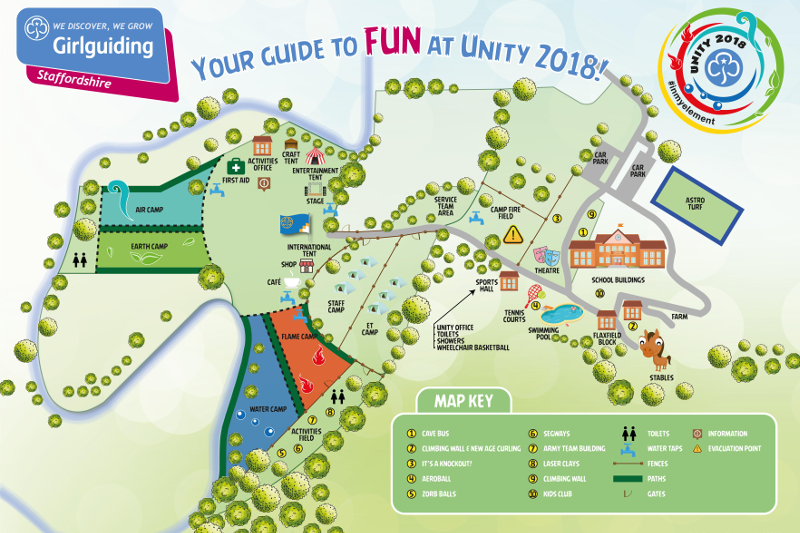 Unity 2018 Site Map Revealed