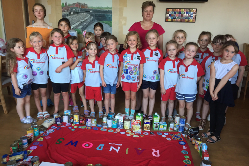 Walton Rainbows Tackle the Earth Element