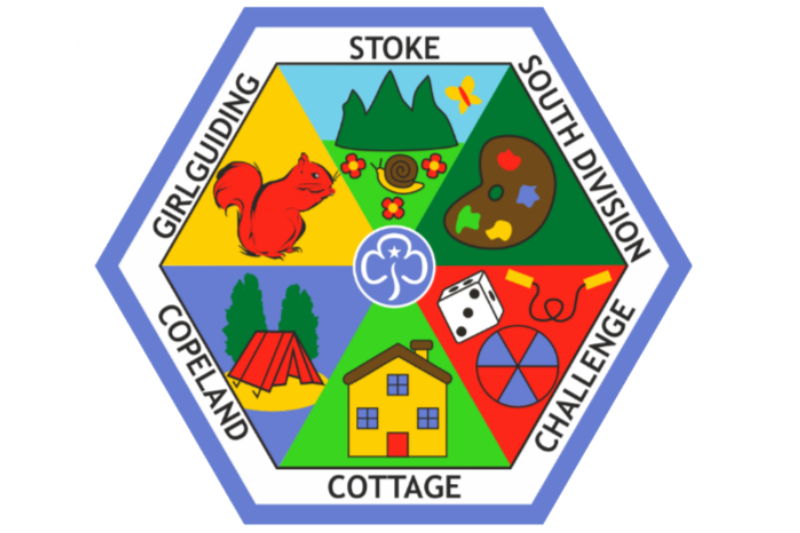 Copeland Cottage Challenge Badge