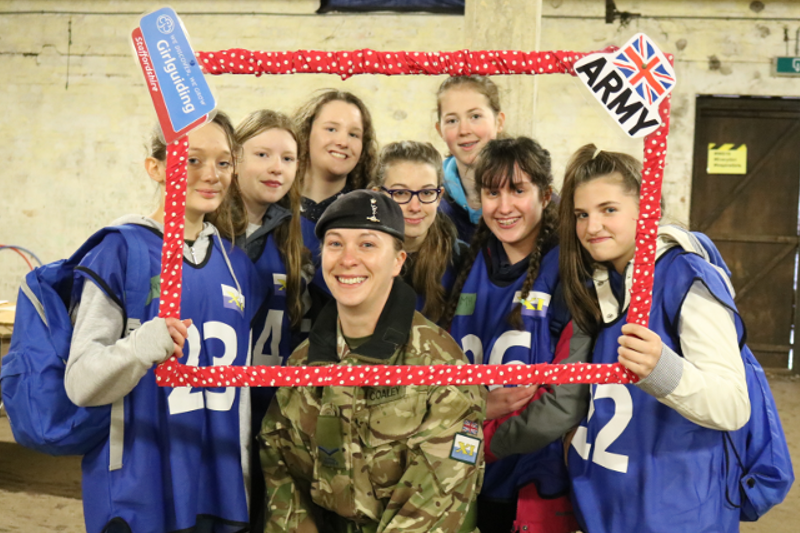 Guides & Rangers Thrive At Army Leadership Event