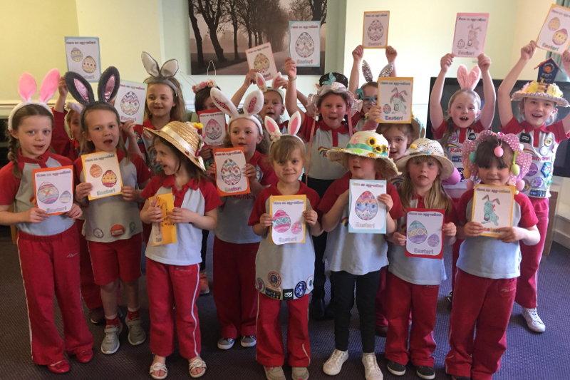 Easter Fun For 1st Walton Rainbows