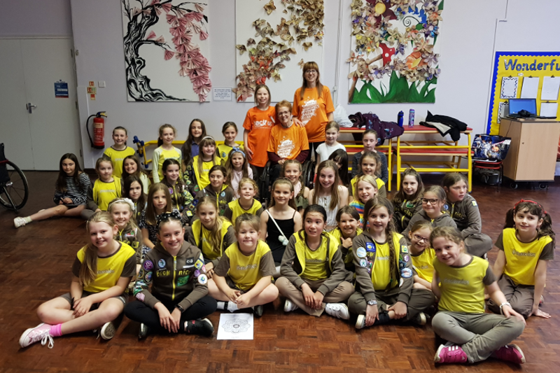 Barton Brownies Fundraise For Back Up Charity
