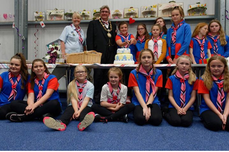 1st Wilnecote Guides Celebrate 50th Birthday