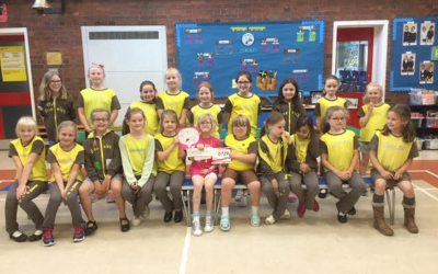 Alrewas Brownie Raises £1,000 running Race For Life