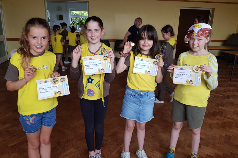 New Gold Awards For Barton Brownies