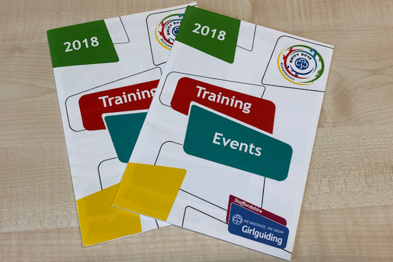 Training & Events Booklet 2018