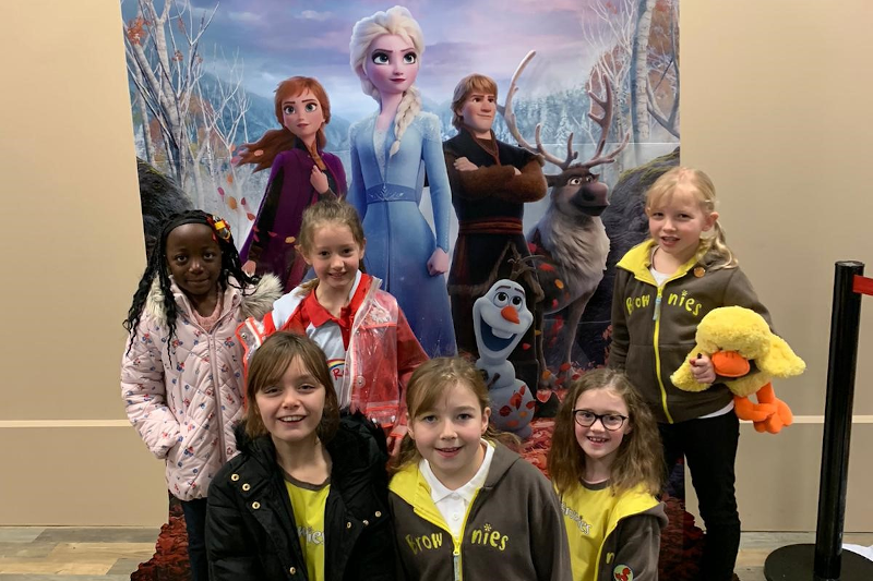 Frozen 2 Fever Hits Girlguiding Staffordshire