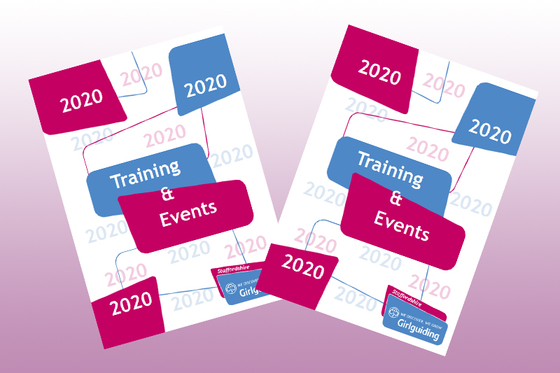 Training & Events Booklet 2020