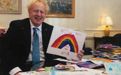 Cannock Rainbow Receives Thanks From Prime Minister