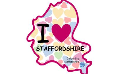 I Love Staffordshire Challenge Badge