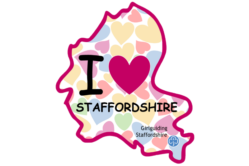 I Love Staffordshire Challenge Badge
