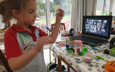 Tamworth Rainbows Hold First Virtual Fairy Event