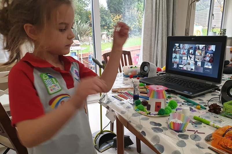 Tamworth Rainbows Hold First Virtual Fairy Event