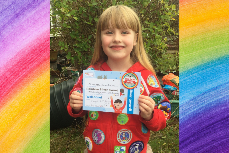 Walton Rainbow Achieves All 12 Interest Badges