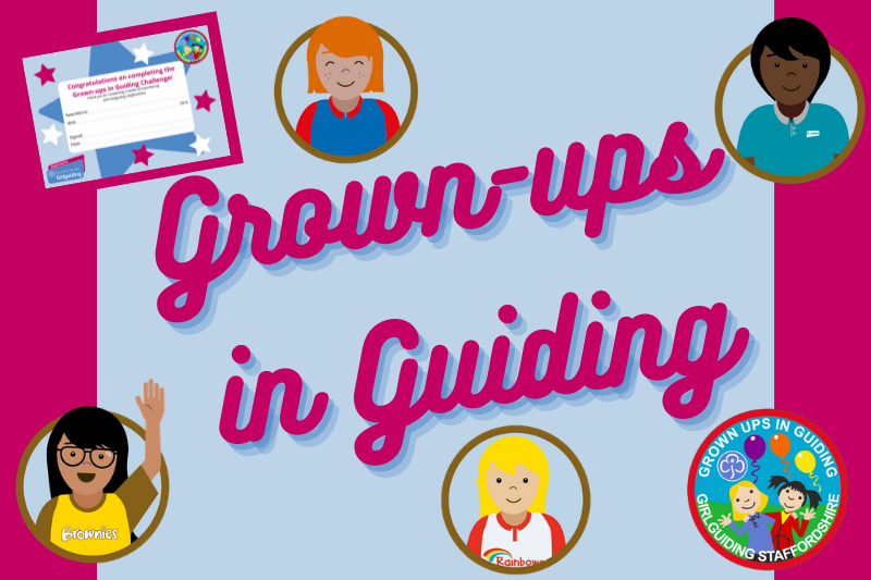 Grown-ups in Guiding